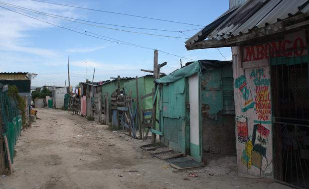 Hütten in Khayelitsha (Foto: Buzzingcities.com/Sonja Peteranderl)