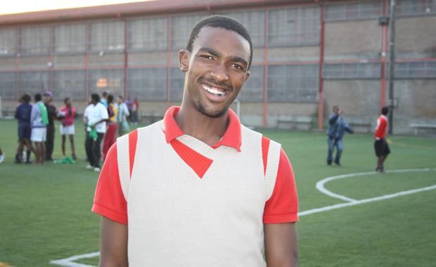 Erst Spieler, dann Trainer: Bei Amandla werden junge Menschen zu Führungspersönlichkeiten ausgebildet (Foto: BuzzingCities.com/Sonja Peteranderl)