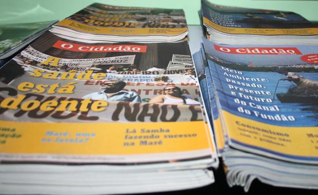 Bürgermedien haben in den Favelas eine lange Tradition - jetzt gehen sie online (Foto: BuzzingCities/Sonja Peteranderl)